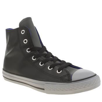Boys Converse Black All Star Hi Boys Youth