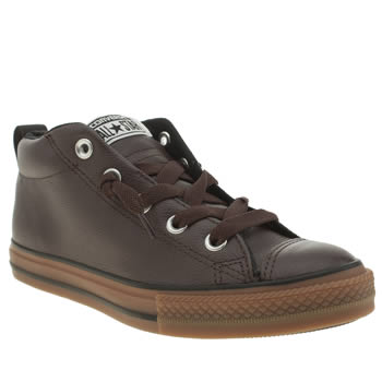 Converse Brown All Star Street Mid Boys Youth