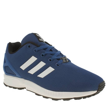 Adidas Navy Zx Flux Boys Youth