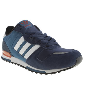 Boys Adidas Blue Zx 700 Boys Youth