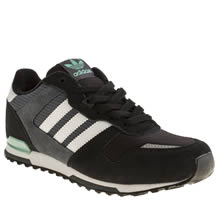 Youth Black & Grey Adidas Zx 700