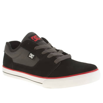 Dc Shoes Black & Grey Tonik Boys Youth