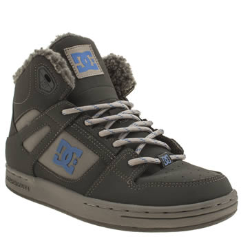 Dc Shoes Grey Rebound Boys Youth