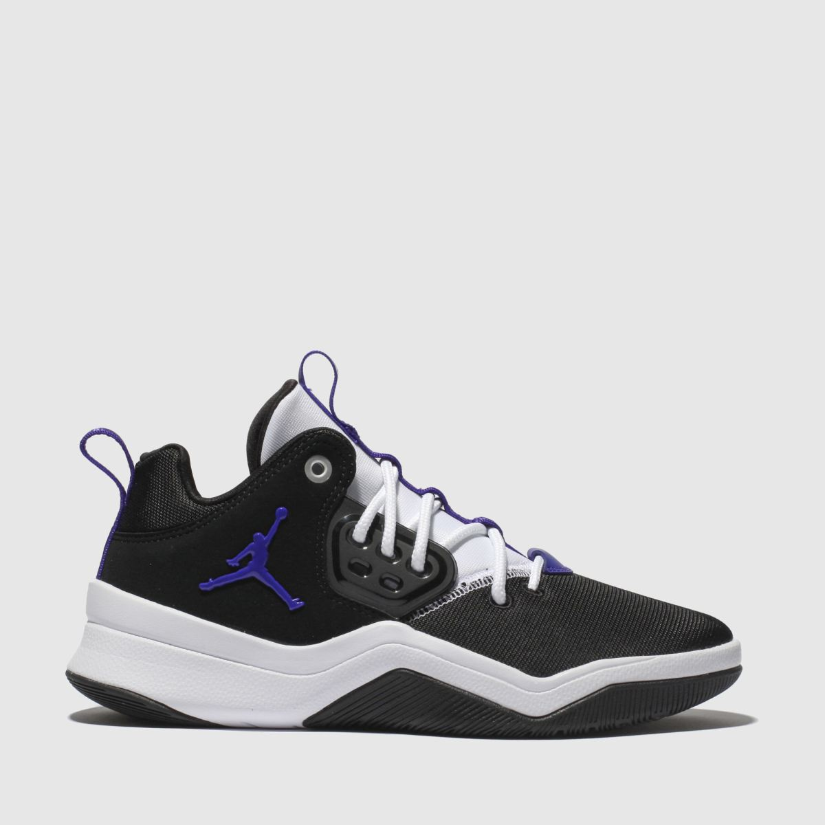 Nike Jordan Black & Purple Jordan Dna Trainers Youth