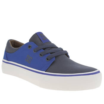 Dc Shoes Navy Trase Tx Yth Boys Youth