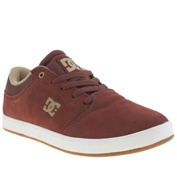 Dc Shoes Burgundy Crisis Boys Youth