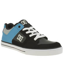 Dc Shoes Black and blue Pure Boys Youth