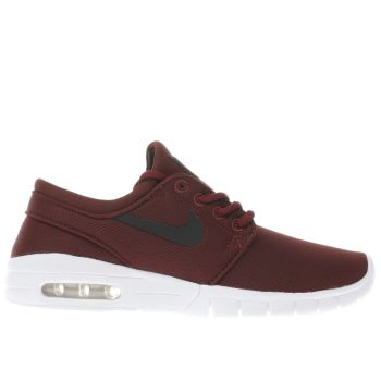 Nike Sb Burgundy Janoski Max Boys Youth