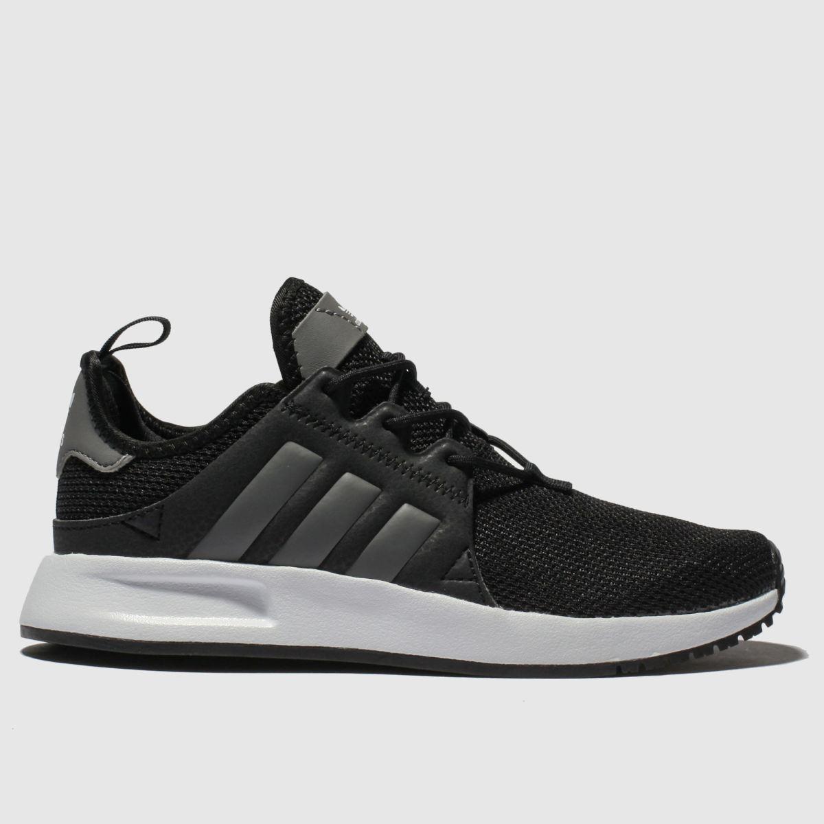 Adidas Black & Grey Adi X_plr Trainers Youth