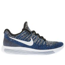 Nike Navy Lunar Epic Low Flyknit 2 Boys Youth