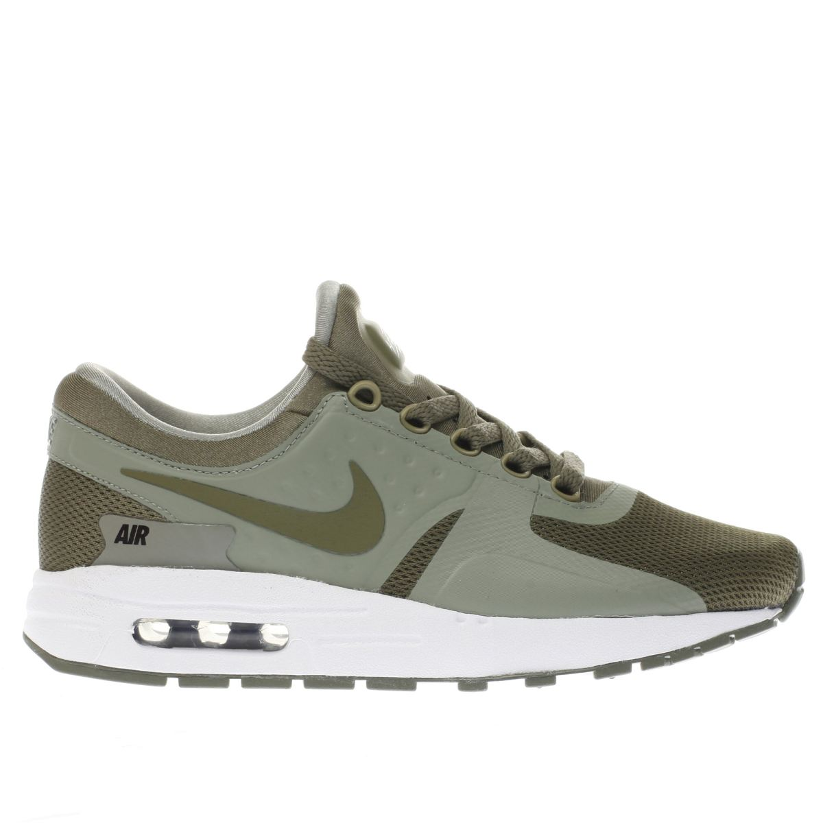 nike khaki air max zero essentialyth Boys Youth Trainers