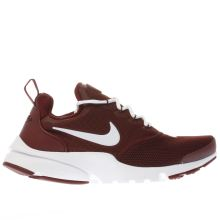 Nike Burgundy Presto Fly Boys Youth