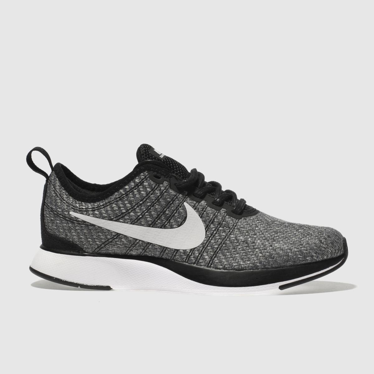 Nike Grey & Black Dualtone Racer Se Boys Youth Trainers
