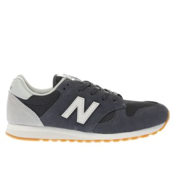NEW BALANCE NAVY 520 BOYS YOUTH TRAINERS