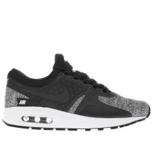 Nike Black & White Air Max Zero Boys Youth