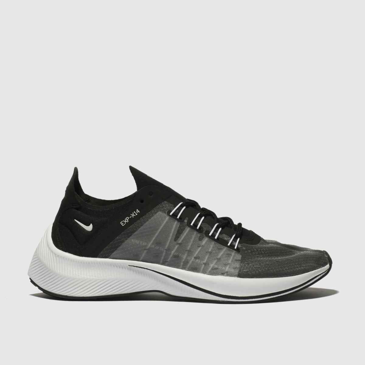 Nike Black & White Exp-x14 Trainers Youth