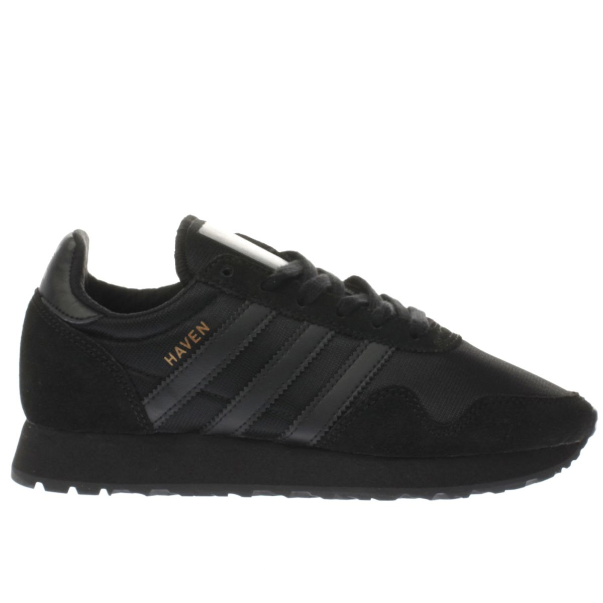 adidas black haven Boys Youth Trainers