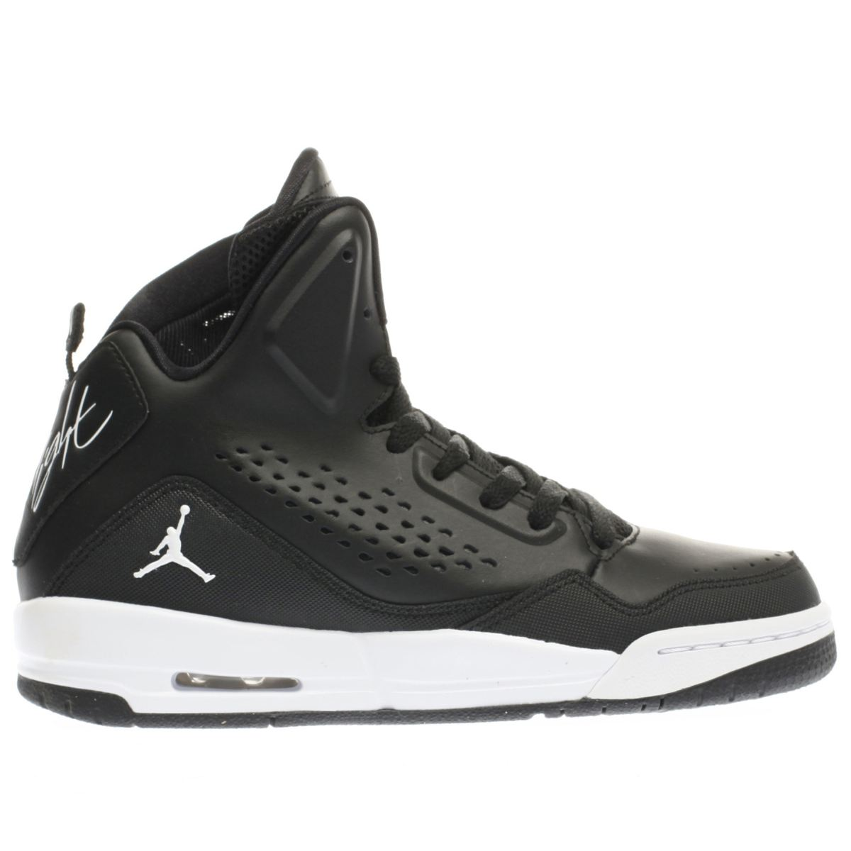 nike jordan black sc-3 Boys Youth Trainers