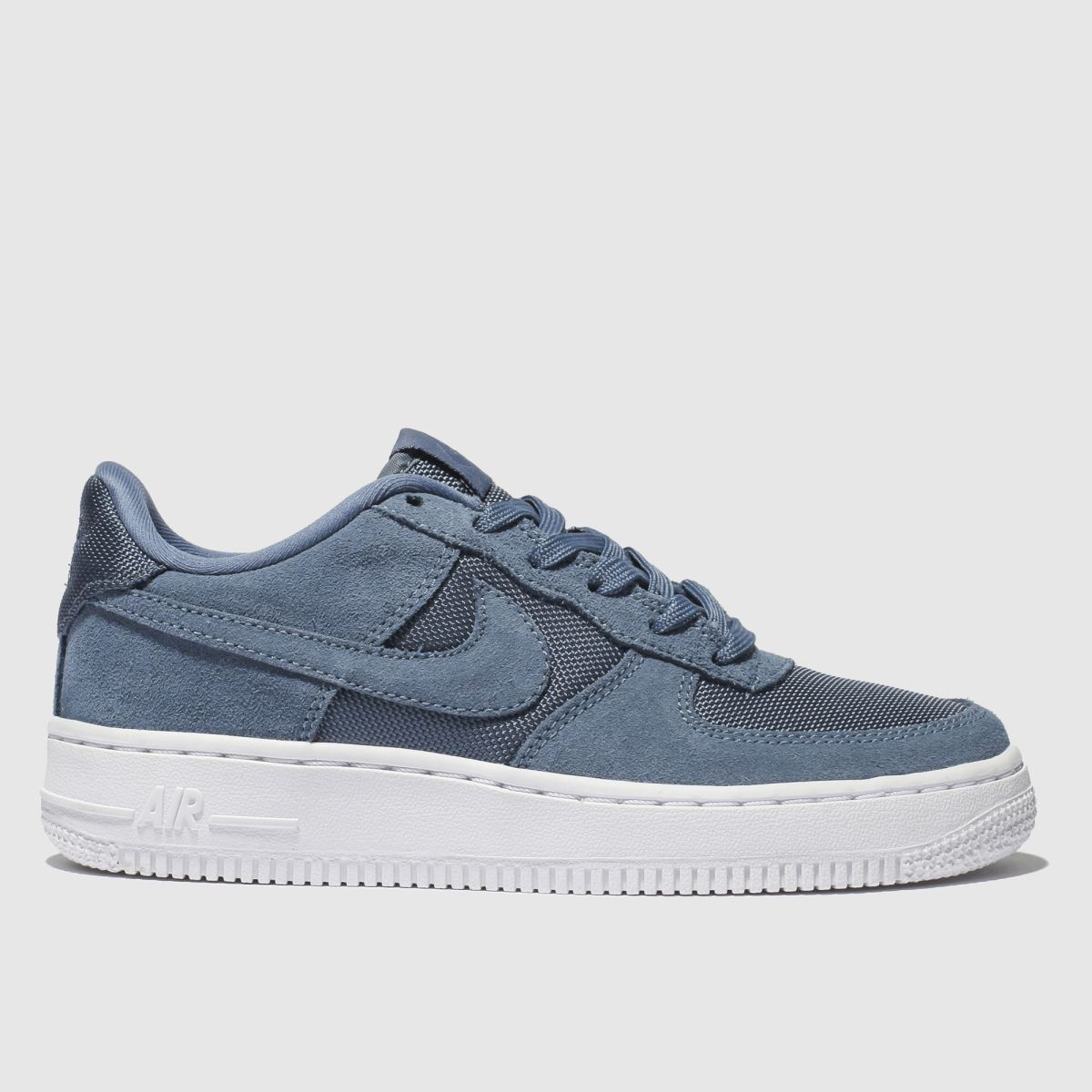 Nike Blue Air Force 1-1 Trainers Youth
