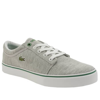 Lacoste Light Grey Vaultstar Boys Youth