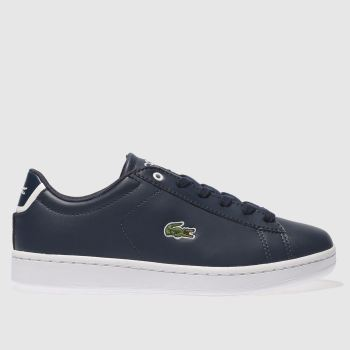 Lacoste Navy Carnaby Evo Boys Youth