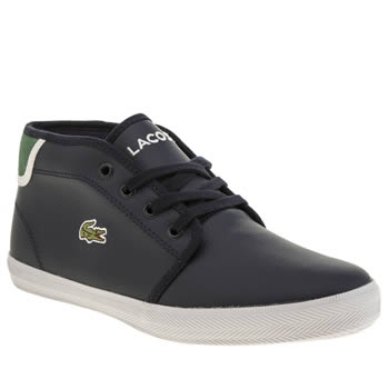Lacoste Navy & Green Ampthill Boys Youth