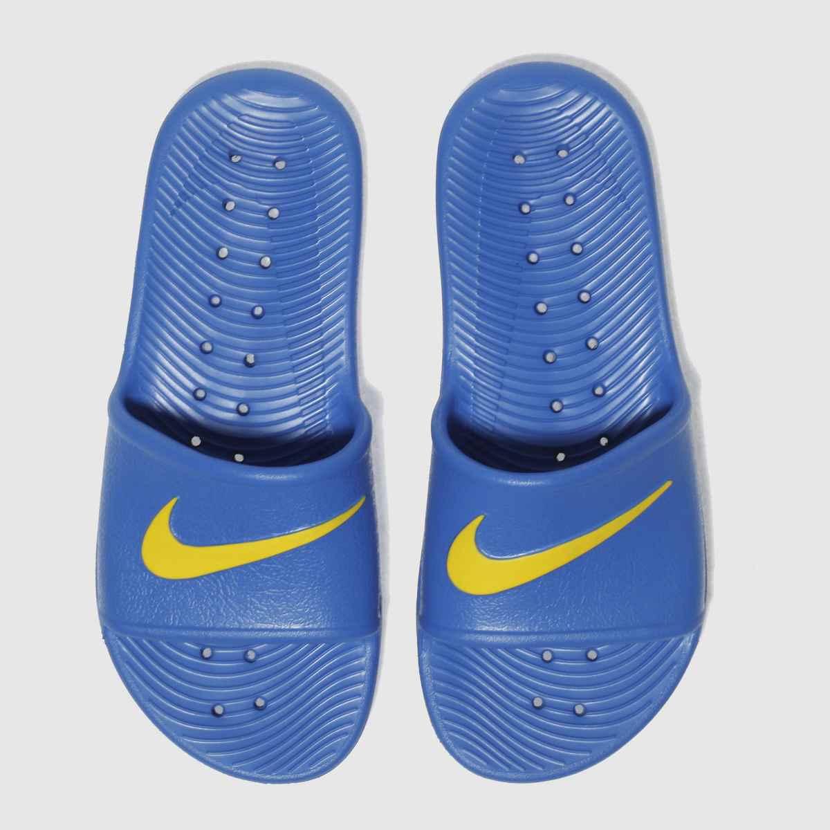 Nike Blue Kawa Shower Boys Youth Sandals