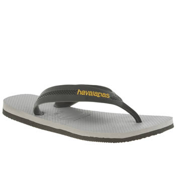Havaianas Light Grey Kids Max Boys Youth