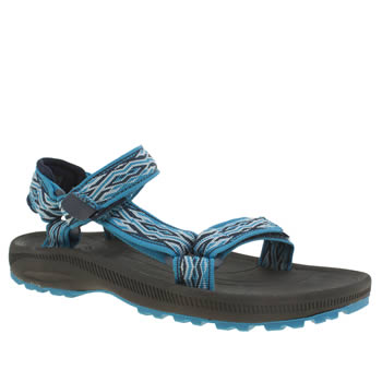 kids teva black and blue hurricane 2 trainers