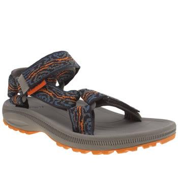 Teva Navy & Orange Hurricane 2 Boys Youth