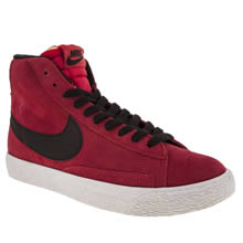 Youth Red Nike Blazer Mid Vintage