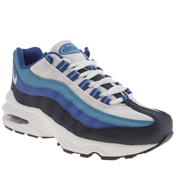 Boys Nike Blue Air Max 95 Boys Youth