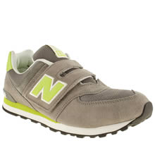 Youth Grey New Balance 574