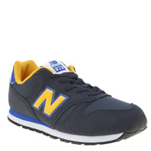 New Balance Navy 373 Autumn Leaves Boys Youth