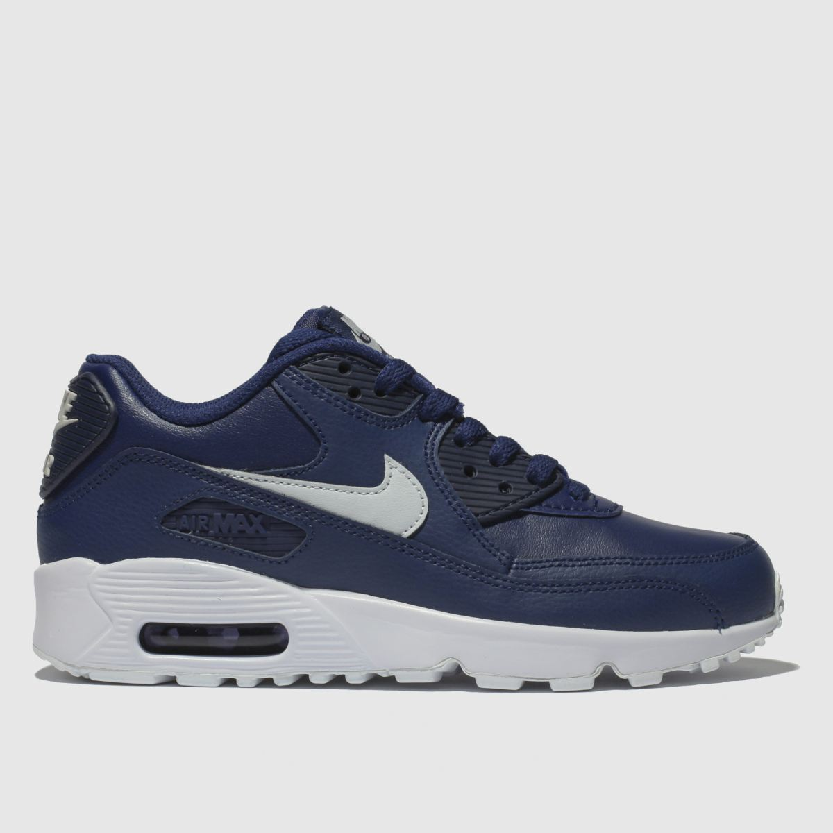 Nike Blue Air Max 90 Trainers Youth