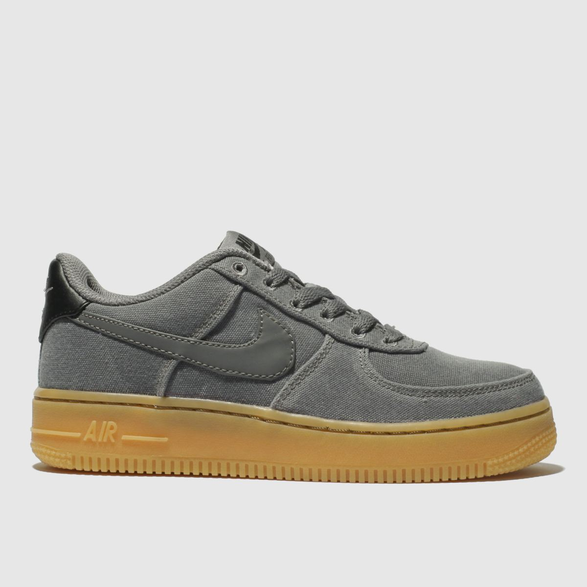 Nike Grey Air Force 1 Lv8 Style Trainers Youth