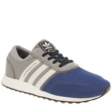 Adidas Grey & Navy Los Angeles Boys Youth