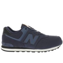 New Balance Navy 574 Boys Youth