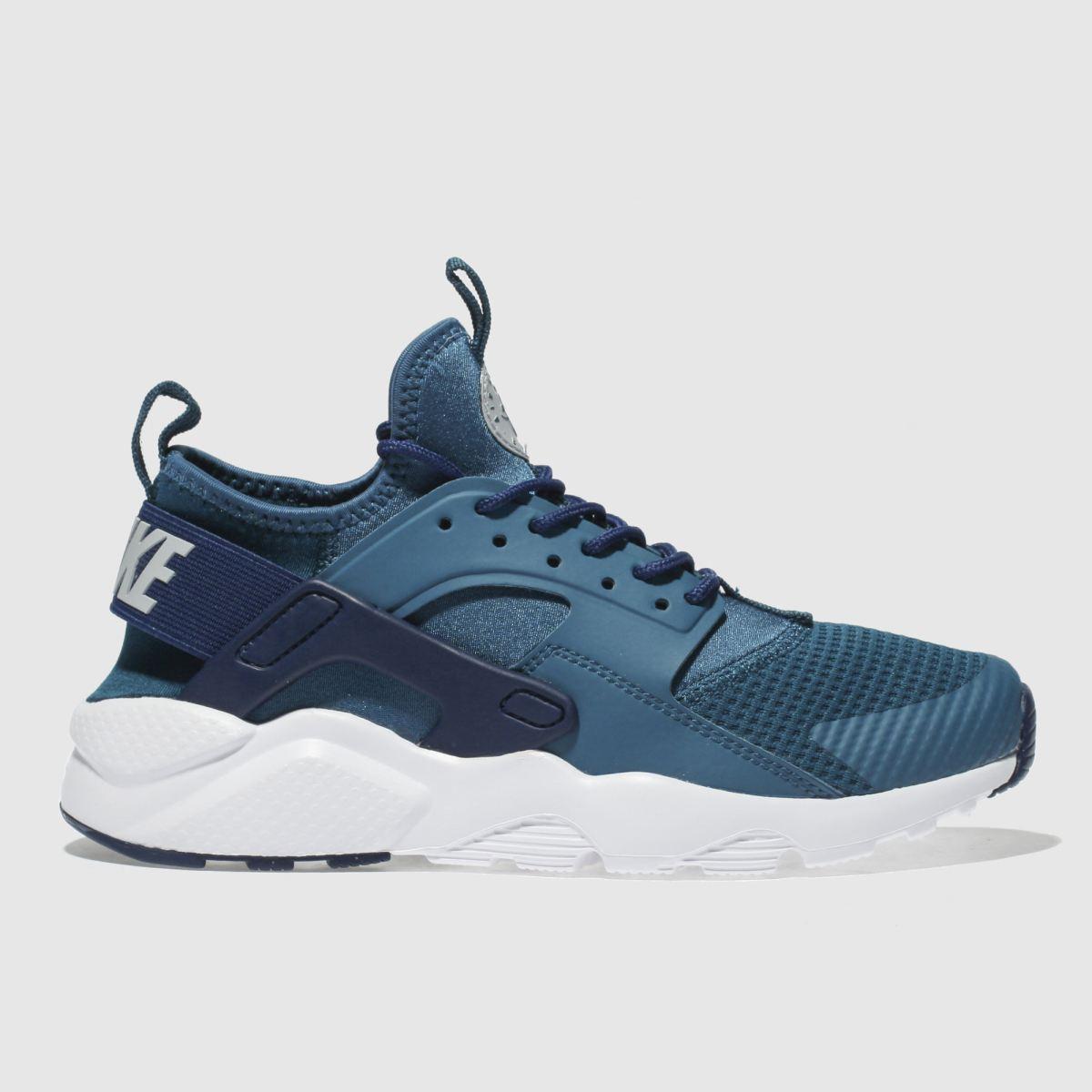 Nike Blue Huarache Run Ultra Trainers Youth
