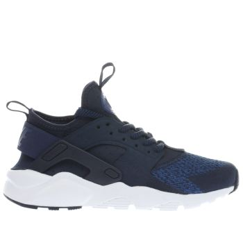 Nike Navy Huarache Run Ultra Se Boys Youth