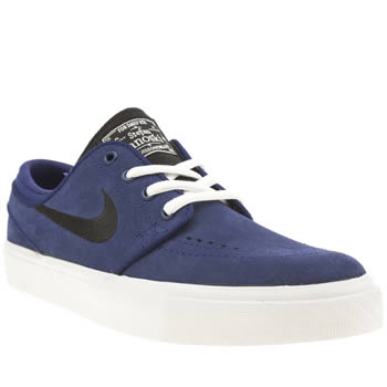 Nike Skateboarding Navy Stefan Janoski Boys Youth