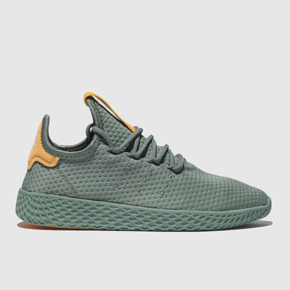 Adidas Green Tennis Pharrell Hu Trainers Youth