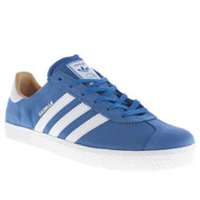 Youth Blue Adidas Gazelle