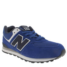 New Balance Blue 574 Boys Youth