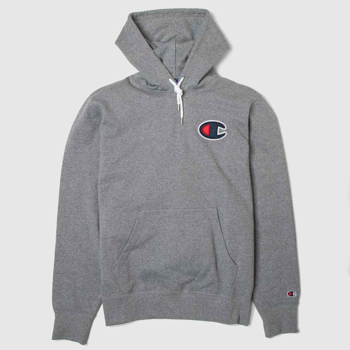 Champion Clothing Champion Grey Hooded Sweatshirt