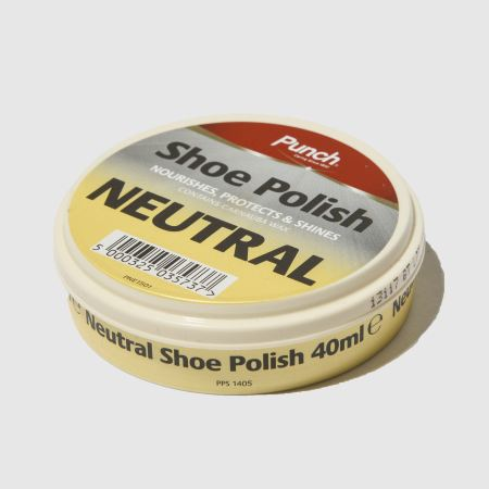 punch neutral shoe polish 1
