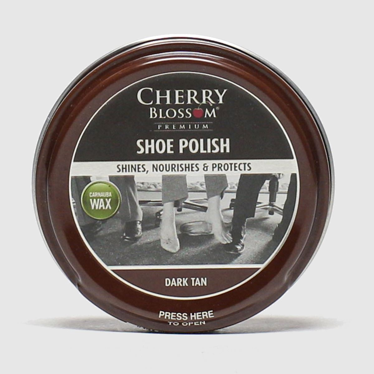 Punch Accessories Cherry Blossom Brown Shoe Polish