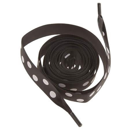 my ribbon laces polka 1