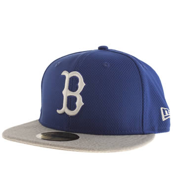 Accessories New Era Blue Red Sox 59fifty Caps and Hats