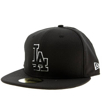 New Era Black La Dodgers Diamond Era 59fifty Caps and Hats